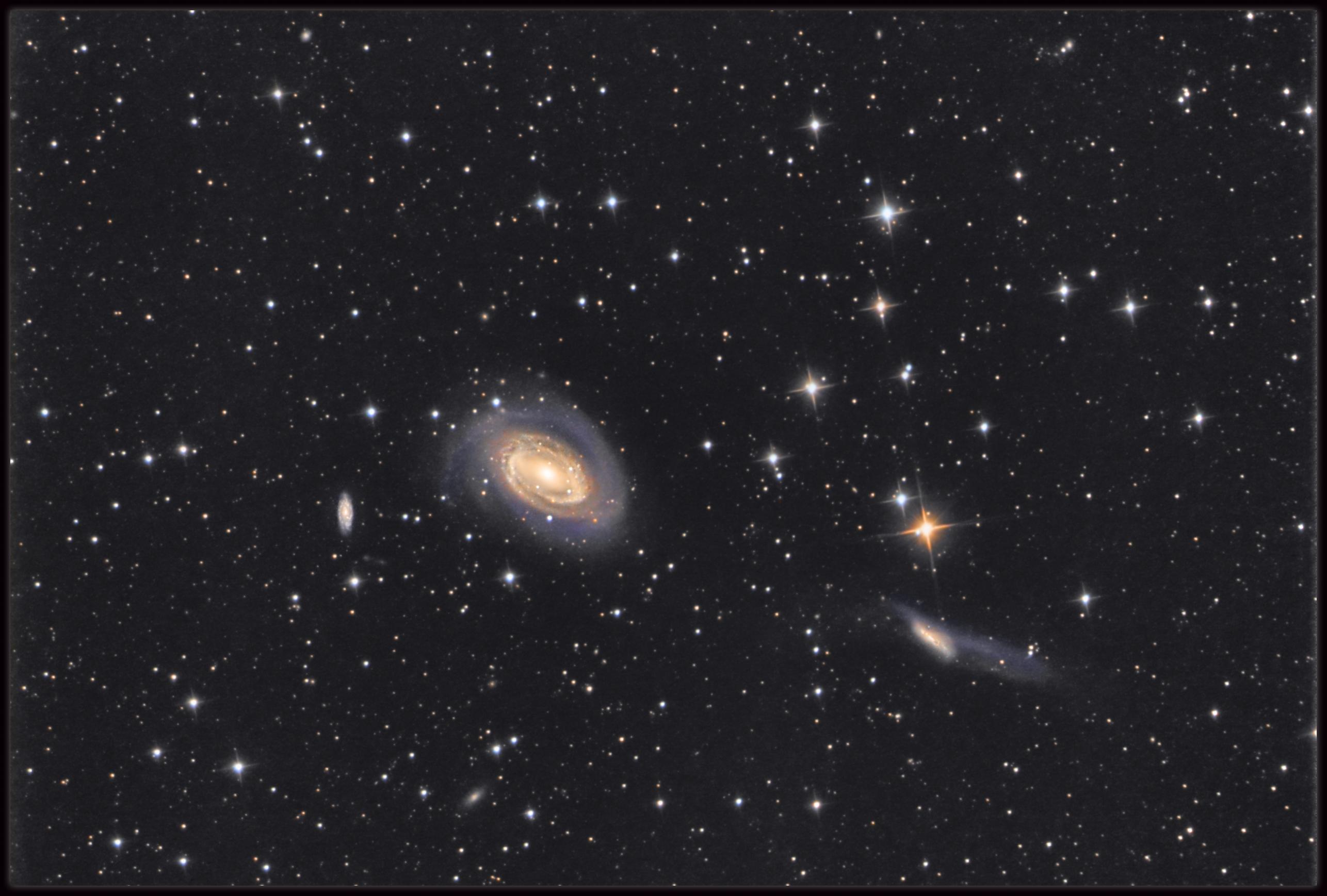 NGC 4725 & NGC 4747