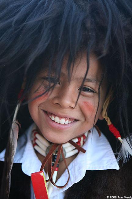 Boy Buffalo Dancer from San Juan