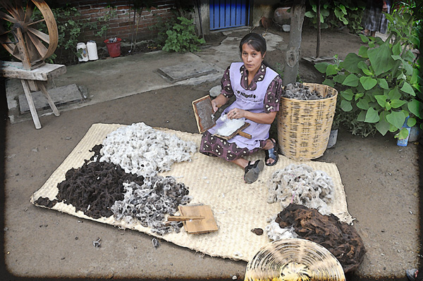 wool for rug-making