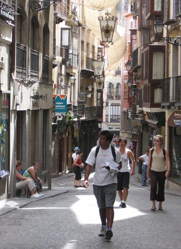 The tourist trail, Toledo