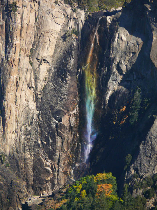 Bridalveil rainbow