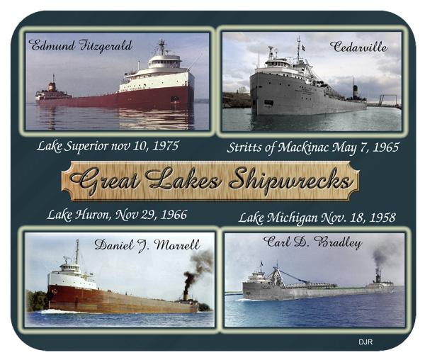 Great Lakes Shipwrecks