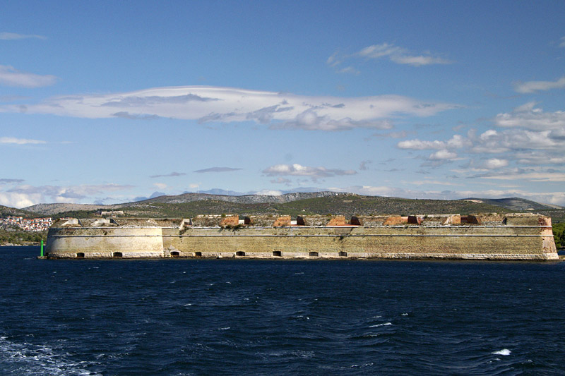 Šibenik - St Nicholas Fortress