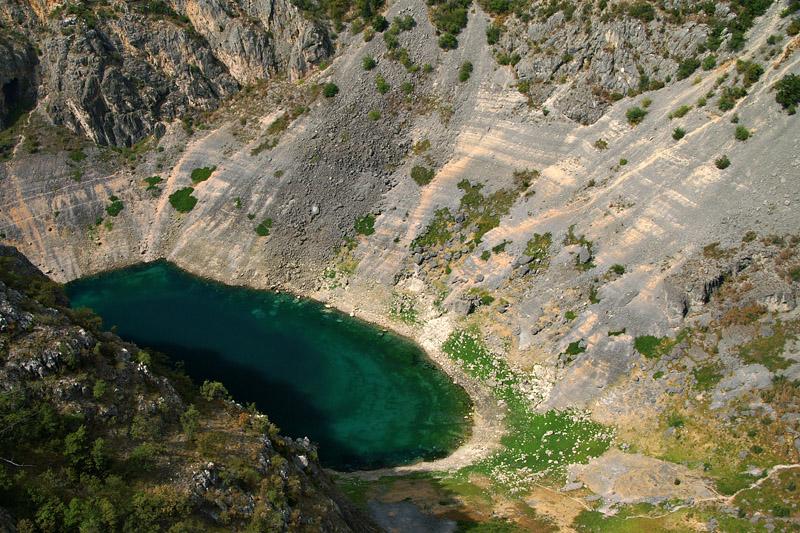Imotski - Modro Jezero (Blue Lake)