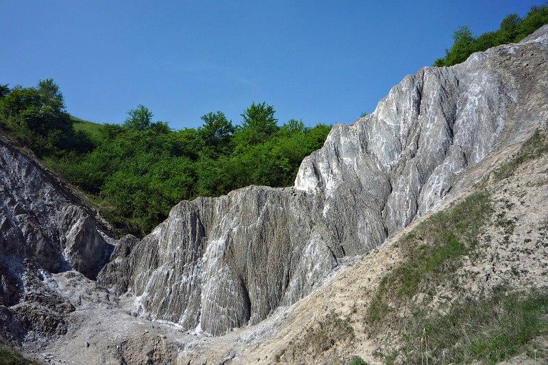 Praid (Parajd) - salt canyon