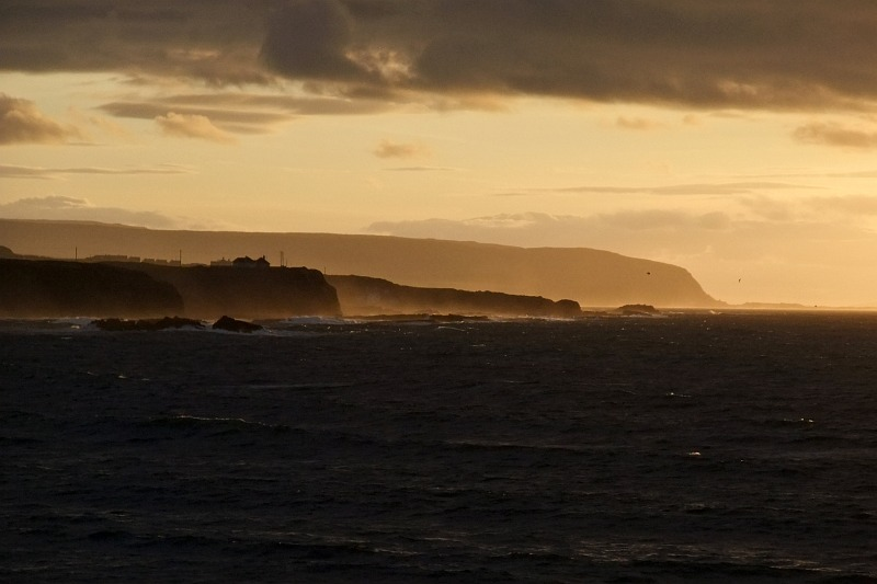 Looking west from Portrush