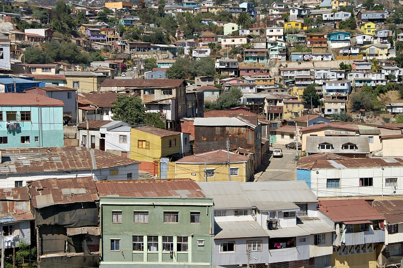 Valparaíso - from Ascensor Polanco