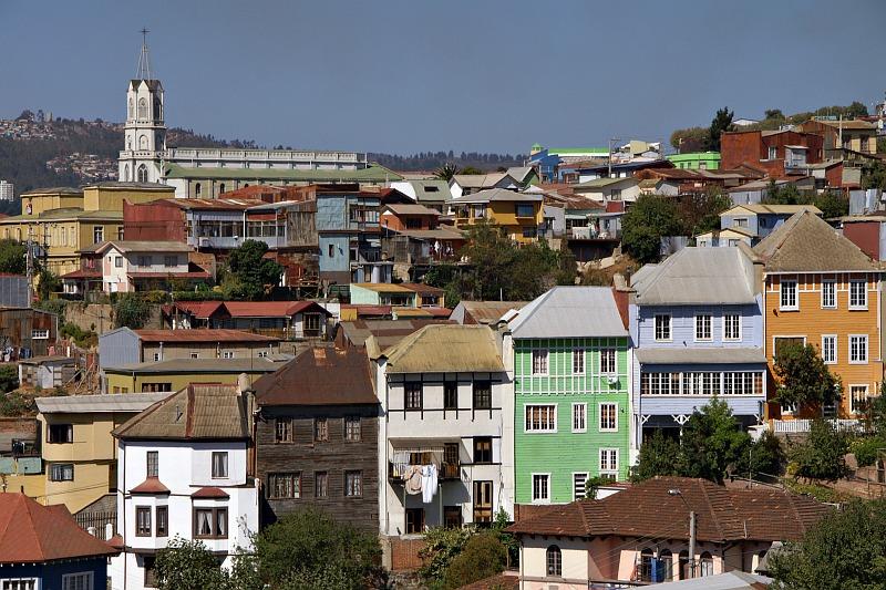 Valparaíso - towards Cerro Bellavista