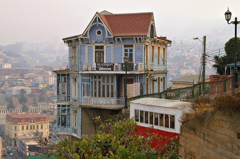 Valparaíso - Ascensor Artillería