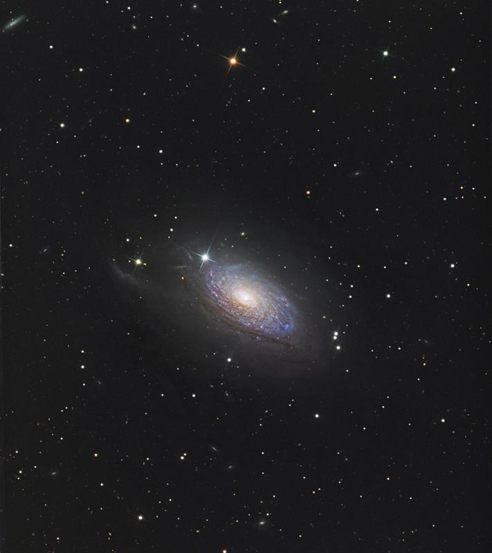 The Sunflower Galaxy, M63