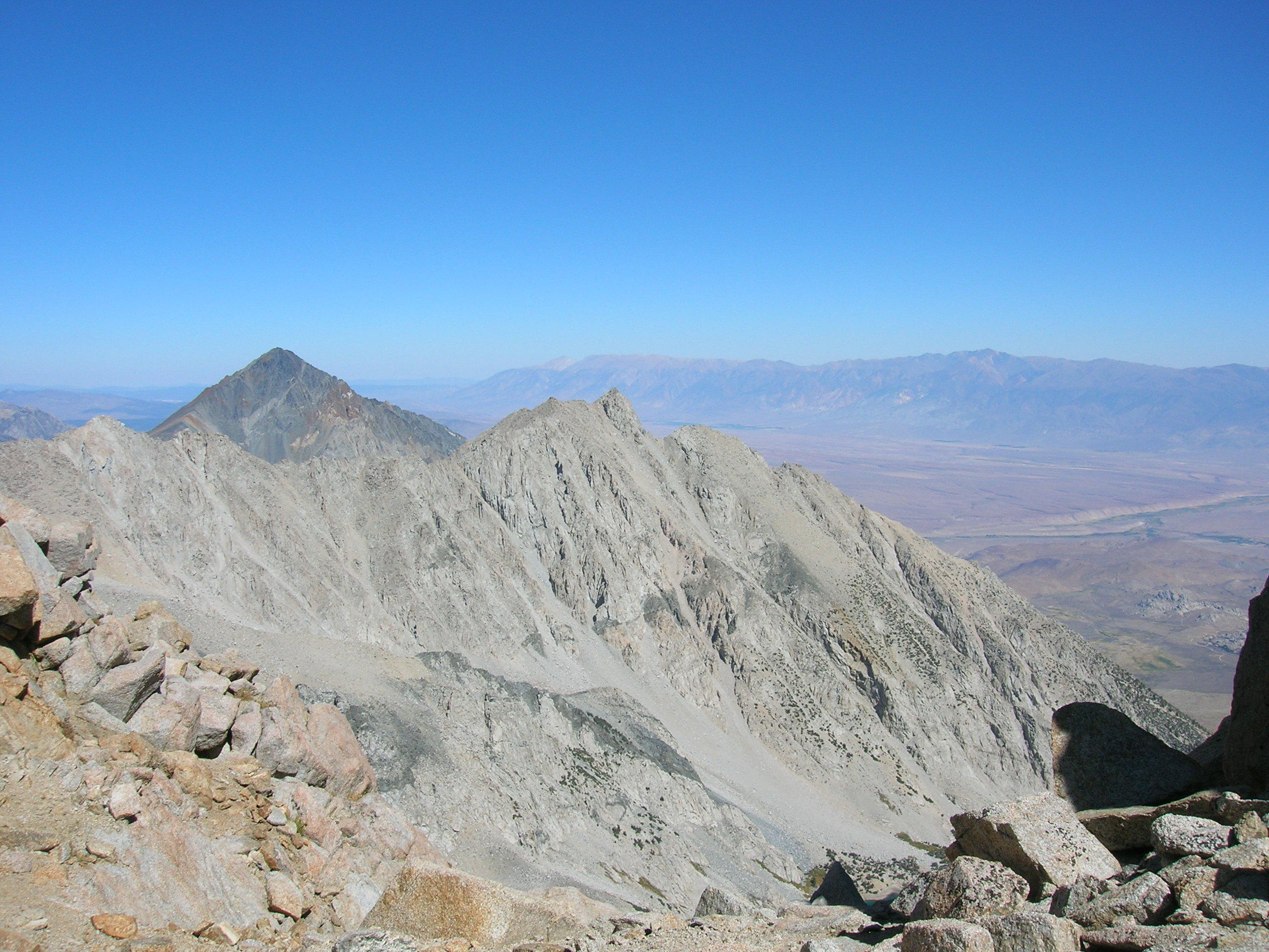 View North From Notch On Mount Humphreys
