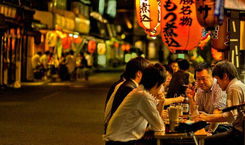 Summer evening around Asakusa