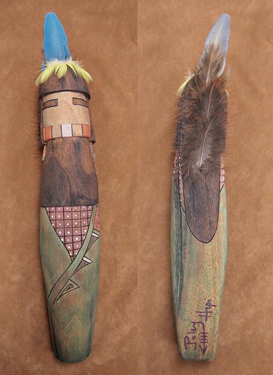 P5173839  Hopi Katsina - Longhair - Bringer of the Gentle Rain