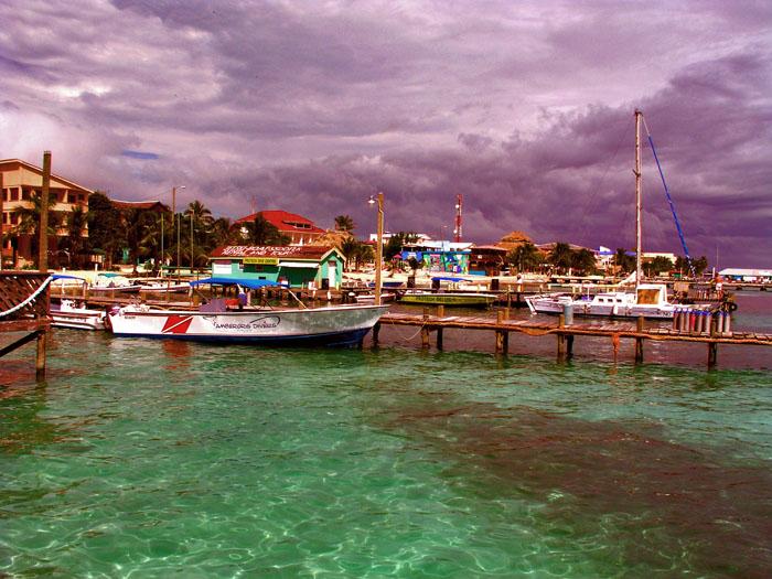 Ambergris Pier Area