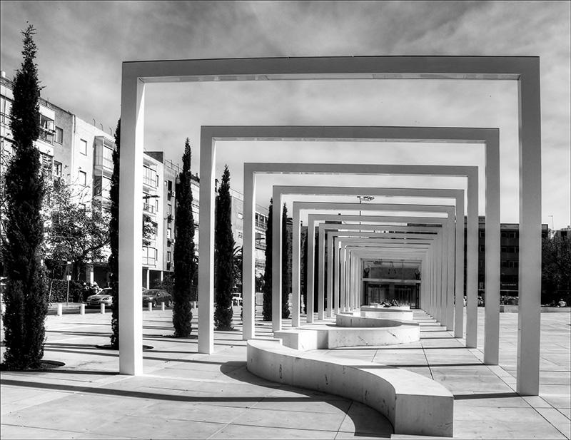 New Piazza in the Mann Auditorium in Tel Aviv
