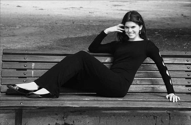 Ella in Black and White in the Park.jpg