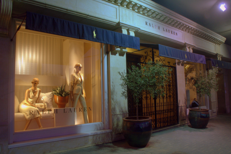 New Window for Ralph Loren