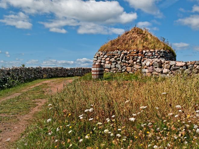 Primitive Stone Hut