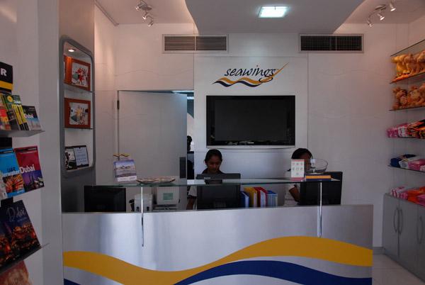Seawings office at the Jebel Ali Golf Resort & Spa