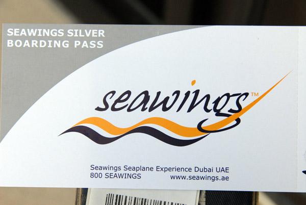 Seawings Silver Boarding Pass
