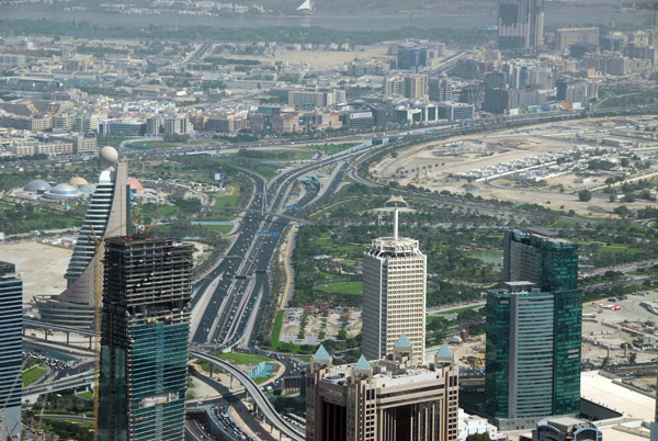 Zabeel Park & Trade Center aerial