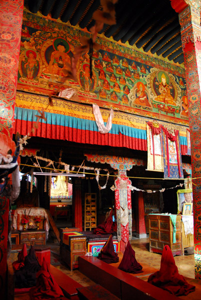 Assembly hall, Tsetang Monastery