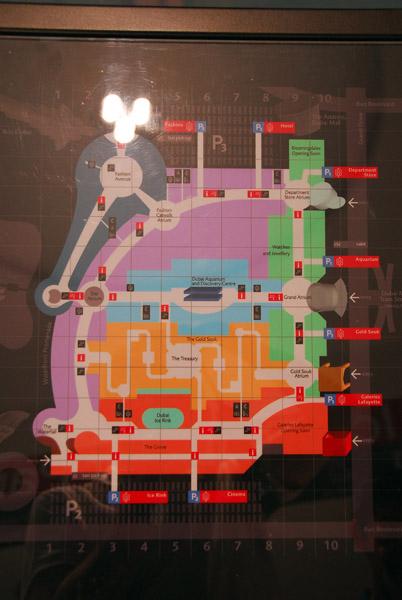 Floor plan of Dubai Mall - G