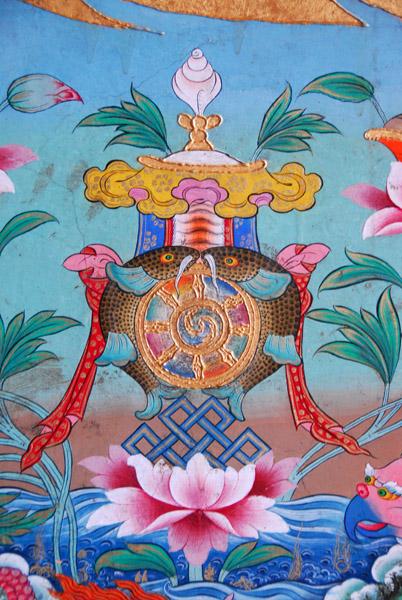 The Eight Auspicious Symbols Of Buddhism Photo Brian Mcmorrow