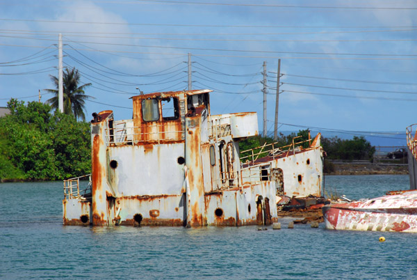 Actually, you dont need to go far for a wreck dive - this one is right near the dock