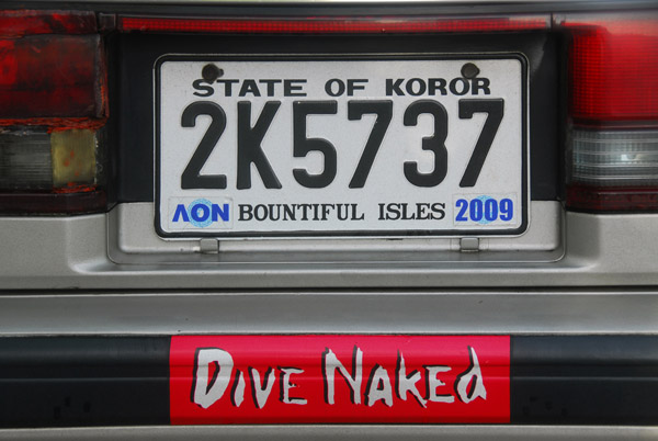 Dive Naked Palau
