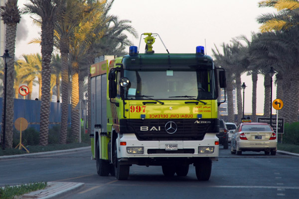 Dubai Civil Defence responds