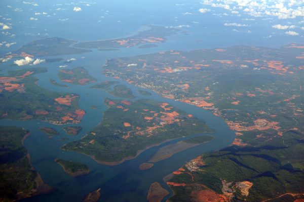 Southeastern Bintan Island, Pulau Poto, Pulau Kelong and Pulau Mantang, Indonesia