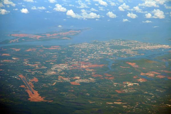 Tanjung Pinang and Kijang Airport, Bintan Island, Indonesia