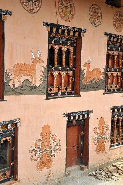 Traditional Bhutanese house, Lobeysa