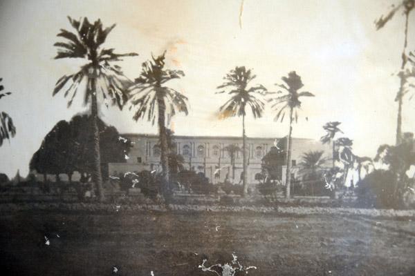 Historic photo of the Governor-Generals Palace, Khartoum