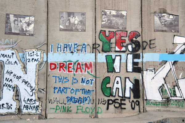 West Bank Separation Wall graffiti - Bethlehem