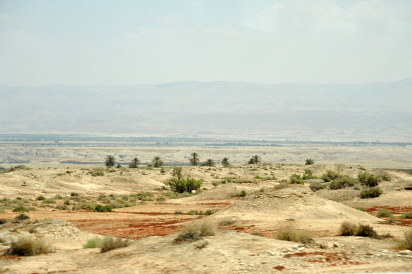 Jordan River Valley near Jericho, West Bank