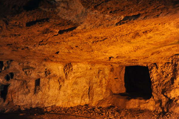 Side gallery of Zekediahs Cave