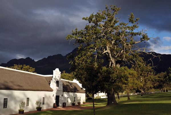 Webersburg Groenrivier Wine Estate, Stellenobosch