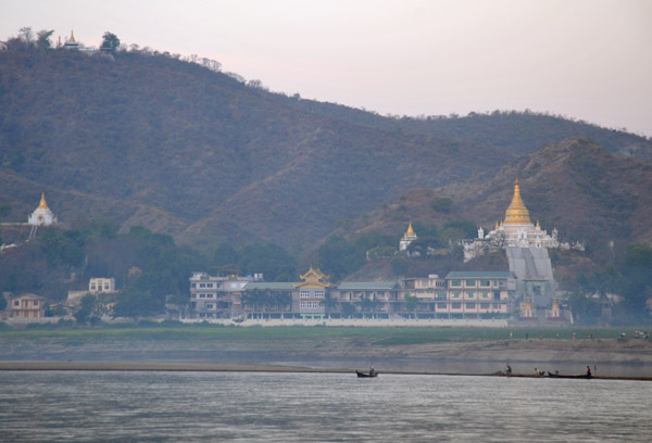Soon, Sagaing comes into view