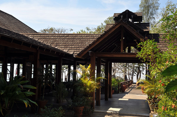 Dining pavilion, Popa Mountain Resort