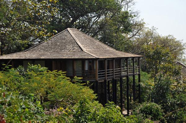 Guestrooms of Popa Mountain Resort