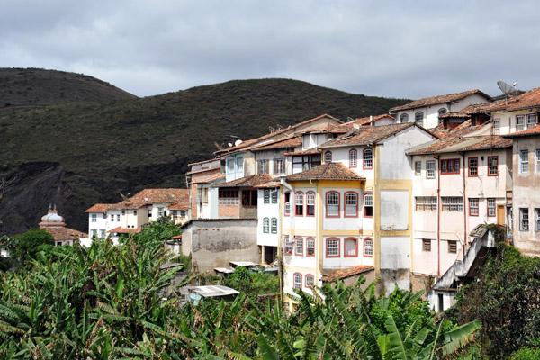 View from the Ponte dos Contos, Ouro Preto
