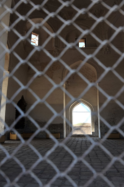 A glimpse inside the Sultan Tekesh Mausoleum