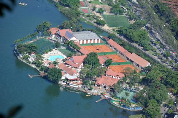 Clube Piraque, Lagoa Rodrigo de Freita