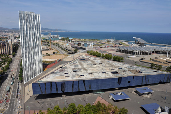 View from the AC Barcelona Hotel Forum