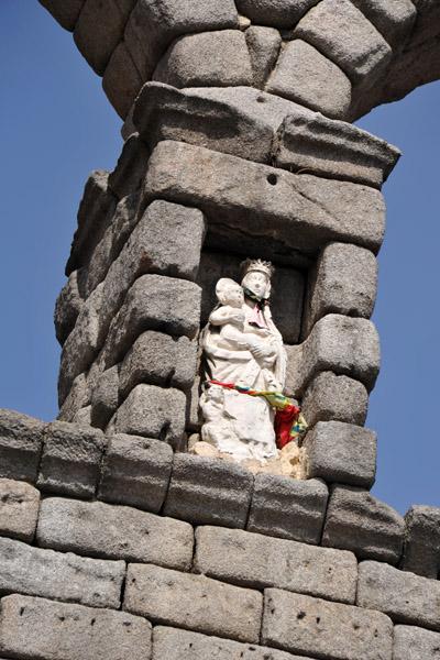 The Virgen de la Fuencisla, the Patroness of Segovia