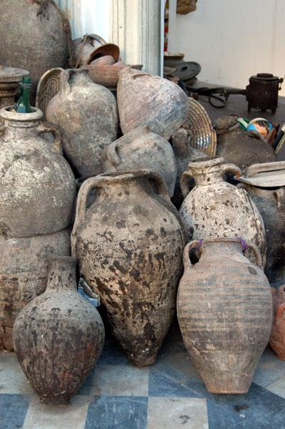 Old jars, Souq al-Attara