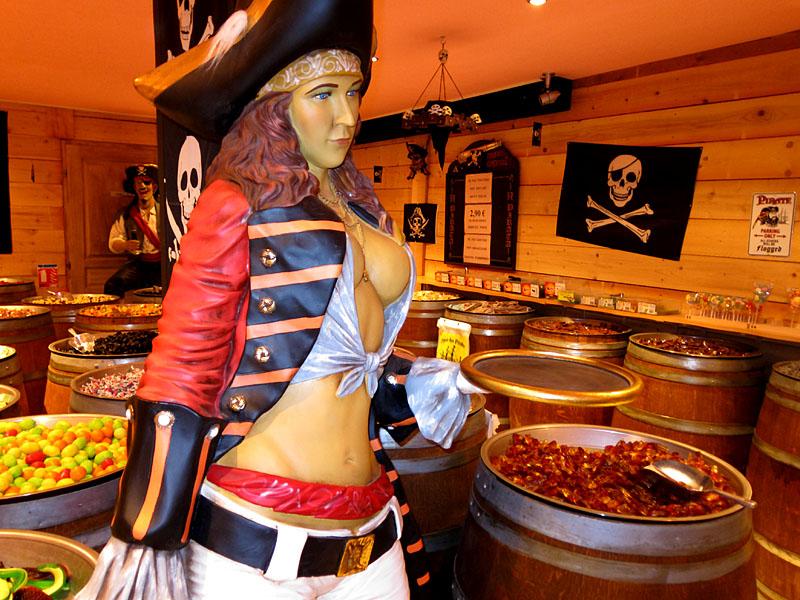 Nice/ Les bonbons du pirate