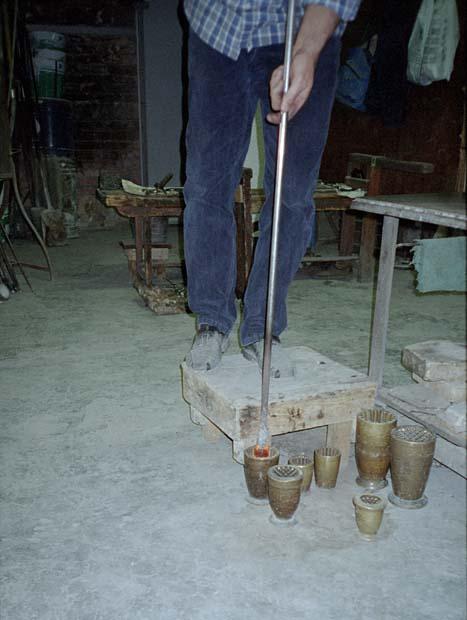 Hot Glass Molding